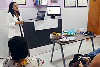 Consulta y talleres de nutrición
