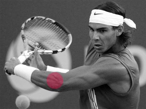 RafaNadal1 como ejemplo de un tenista
