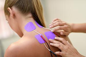 Electroestimulation, una técnica de fisioterapia.