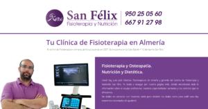 Clinica de Fisioterapia San Félix, imagen para facebook